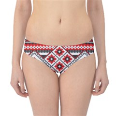 Consecutive Knitting Patterns Vector Hipster Bikini Bottoms