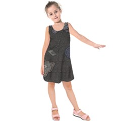 World Map Kids  Sleeveless Dress