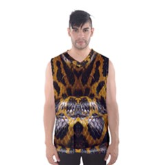Textures Snake Skin Patterns Men s Basketball Tank Top