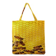Sweden Honey Grocery Tote Bag by BangZart