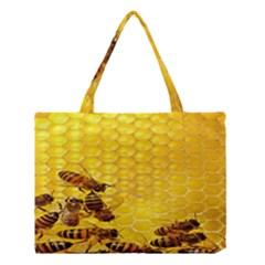 Sweden Honey Medium Tote Bag by BangZart