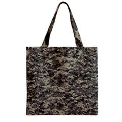 Us Army Digital Camouflage Pattern Grocery Tote Bag by BangZart