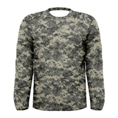 Us Army Digital Camouflage Pattern Men s Long Sleeve Tee