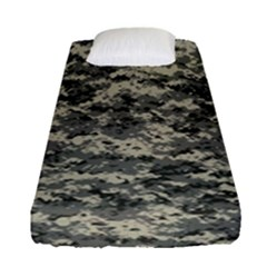 Us Army Digital Camouflage Pattern Fitted Sheet (single Size)