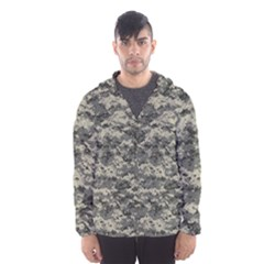 Us Army Digital Camouflage Pattern Hooded Wind Breaker (men)
