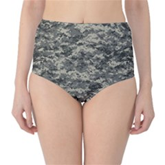 Us Army Digital Camouflage Pattern High Waist Bikini Bottoms