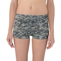 Us Army Digital Camouflage Pattern Reversible Boyleg Bikini Bottoms