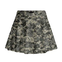 Us Army Digital Camouflage Pattern Mini Flare Skirt