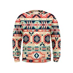 Aztec Pattern Copy Kids  Sweatshirt