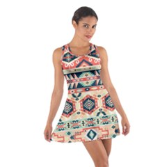 Aztec Pattern Copy Cotton Racerback Dress