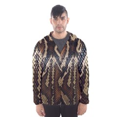 Snake Skin O Lay Hooded Wind Breaker (men)