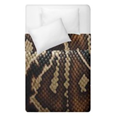 Snake Skin O Lay Duvet Cover Double Side (single Size) by BangZart