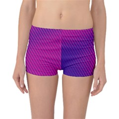 Purple Pink Dots Boyleg Bikini Bottoms