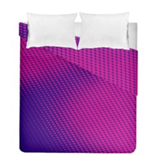 Purple Pink Dots Duvet Cover Double Side (full/ Double Size) by BangZart