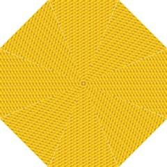 Yellow Dots Pattern Folding Umbrellas by BangZart