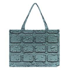 Water Drop Medium Tote Bag by BangZart