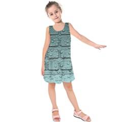 Water Drop Kids  Sleeveless Dress