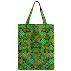 Flowers In Mind In Happy Soft Summer Time Zipper Classic Tote Bag by pepitasart