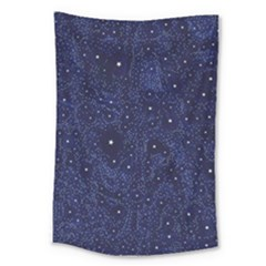 Awesome Allover Stars 01b Large Tapestry by MoreColorsinLife
