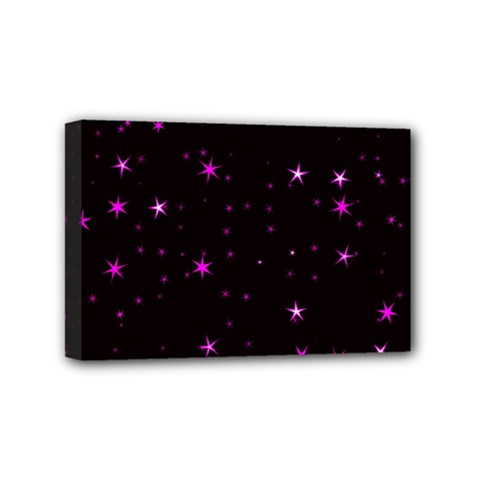 Awesome Allover Stars 02d Mini Canvas 6  X 4  by MoreColorsinLife