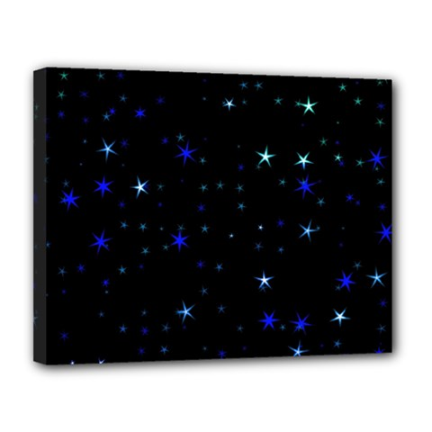 Awesome Allover Stars 02 Canvas 14  x 11
