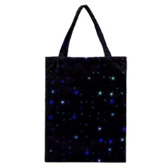 Awesome Allover Stars 02 Classic Tote Bag by MoreColorsinLife