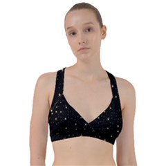 Awesome Allover Stars 02a Sweetheart Sports Bra