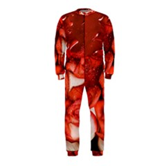 Nice Rose With Water Onepiece Jumpsuit (kids)