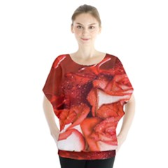 Nice Rose With Water Blouse