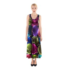 Stained Glass Sleeveless Maxi Dress by BangZart