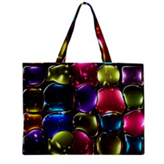 Stained Glass Zipper Mini Tote Bag by BangZart