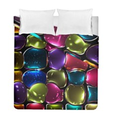 Stained Glass Duvet Cover Double Side (full/ Double Size) by BangZart