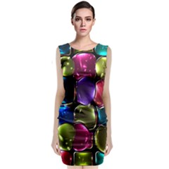 Stained Glass Classic Sleeveless Midi Dress