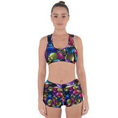 Stained Glass Racerback Boyleg Bikini Set