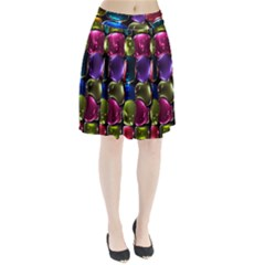 Stained Glass Pleated Skirt