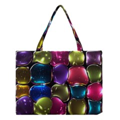 Stained Glass Medium Tote Bag by BangZart