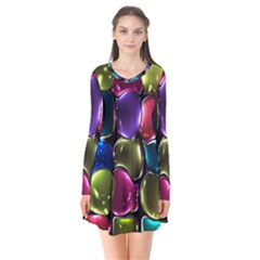 Stained Glass Flare Dress by BangZart