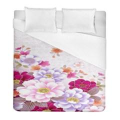 Sweet Flowers Duvet Cover (full/ Double Size)