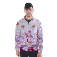 Sweet Flowers Wind Breaker (men)