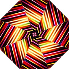 Funky Color Lines Straight Umbrellas by BangZart