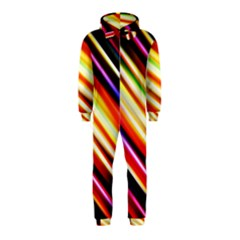 Funky Color Lines Hooded Jumpsuit (kids)