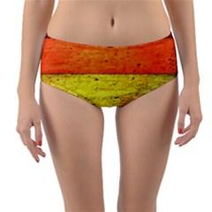 Five Wall Colour Reversible Mid Waist Bikini Bottoms