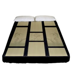 Tatami   Bamboo Fitted Sheet (california King Size) by RespawnLARPer