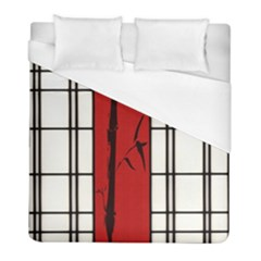 Shoji   Bamboo Duvet Cover (full/ Double Size) by RespawnLARPer
