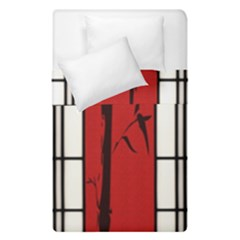 Shoji   Bamboo Duvet Cover Double Side (single Size) by RespawnLARPer
