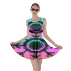 Vector Snowflake Skater Dress by BangZart