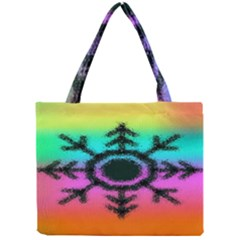 Vector Snowflake Mini Tote Bag by BangZart