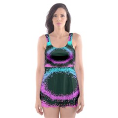 Vector Snowflake Skater Dress Swimsuit