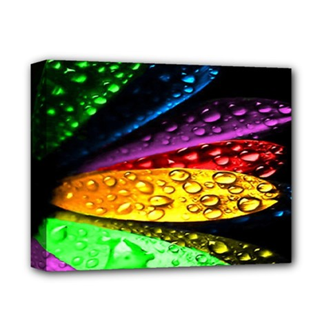 Abstract Flower Deluxe Canvas 14  X 11  by BangZart