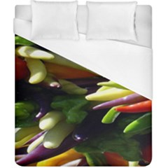 Bright Peppers Duvet Cover (california King Size)